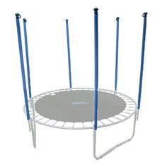 Upper Bounce Trampoline Accessories Trampoline Enclosure Poles and Hardware - Net Sold Separately (Set of 8) Black Ubhwd-PS8, As Shown
