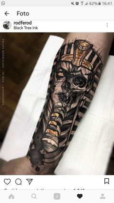 101 Amazing Egyptian Tattoo Designs You Must See! Tribal Scorpion Tattoo, Tattoo Tribal, Tattoo Dotwork, Tattoo Henna, Blue Tattoo, Leg Tattoo Men, Forearm Tattoos, Mens Hand Tattoos, Gold Tattoo