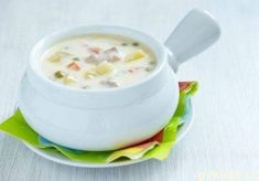 Приготовь на выходных: Сырный суп с плавленным сырком и куриной грудкой