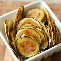 Zucchini Chips @keyingredient #sandwich
