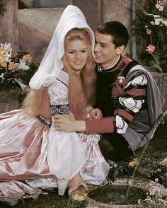 """Brigitte Bardot & Alain Delon """" Amours célèbres """" , 1961"""