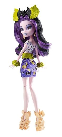 Monster High Ghouls' Getaway Elissabat Doll