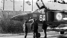 Mig-23 during Soviet-Afghan War