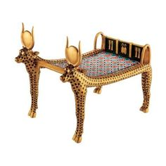 Amazon.com: Egyptian Artifact from the Tomb of Tutankhamen: Cow... ($25) ❤ liked on Polyvore featuring egypt, furniture, egyptian, fillers and home