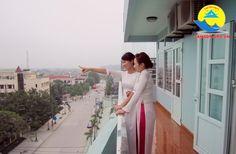View từ phòng Khách sạn Thanh Lan Sầm Sơn