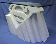 Fortress Of Solitude Model | Superman Fortress of Solitude style coffee table PICS!