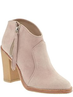The Low Bootie- Perfectly paired with denim or your favorite casual skirt