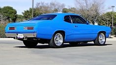 Mostly Mopar Muscle — abigdumbanimal: Nice resto-mod Duster. Old Muscle Cars, American Muscle Cars, Plymouth Muscle Cars, Plymouth Duster, Automobile, Car Man Cave, Dusters, Drag Racing, Fast Cars