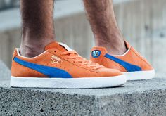 c13d1e42d5dd56 PUMA have returned to the PUMA Clyde for a New York Knicks inspired  colourway that pays homage to the story behind the shoe.