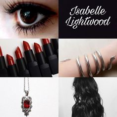 Izzy, Isabelle Lightwood,  dark eyes, Red, Shadowhunters, edit,