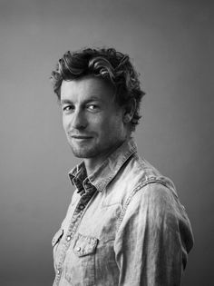 Simon Baker..he should have been in place of Harry Conick JR in P.S I love you