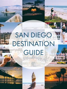 Filled with tips from locals, this destination guide is all you need to see the best of San Diego, California!