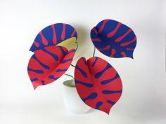 Paper Tropical plant by Studio Lune www.studiolune.com