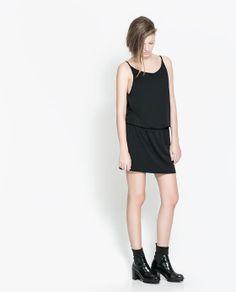 Image 1 of OPEN BACK DRESS from Zara