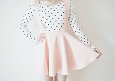 Two of the things I love! Polka dots & Pastels!