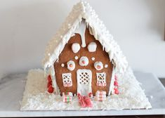 The Perfect Gingerbread House 'Glue' Is Royal Icing - Royal Icing Recipe for a Gingerbread House Royal Icing Recipe for a Gingerbread House Royal Icing R - Royal Icing Recipe For Gingerbread House, Make A Gingerbread House, Gingerbread Village, Christmas Gingerbread, Royal Icing Recipe With Egg Whites, Royal Icing Cookies Recipe, Iced Sugar Cookies, Welcome To Christmas, Christmas Minis