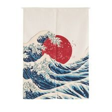 Home Kitchen Japanese Doorway Curtain Tapestry Hanging Room Divider Decor US Cafe Curtain Rods, Curtain For Door Window, Room Divider Curtain, Curtain Room, Door Dividers, Hanging Room Dividers, Hanging Curtains, Hanging Tapestry, Half Curtains