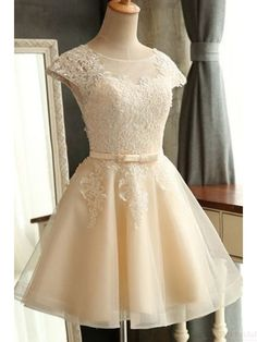 ivory homecoming dresses, 2k17 homecoming dresses, lace homecoming dresses, homecoming dresses short, tulle homecoming dresses,cheap homecoming dresses, cocktail dresses, graduation dresses, party dresses,prom dresses #SIMIBridal #homecomingdresses