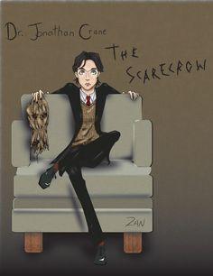 Jonathan Crane, The Scarecrow #batman #villain