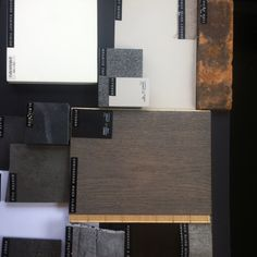 Materials board winsome