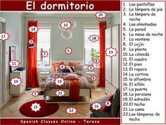 Vocabulario #dormitorio