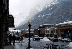 Telluride, CO - my  favorite mountain town