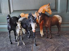 My toy horses meant the world to me, I still have them saved up somewhere in storage..