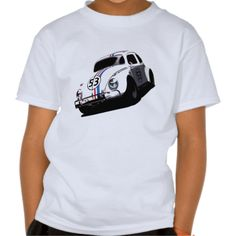 Herbie The Love Bug Disney Tee Shirts