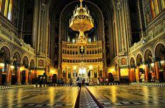 Cathedral Catedrala Mitropolitana din Timisoara - Timisoara Romania by Aaron Sneddon Scottish Press Photographer, via Flickr Timisoara Romania, Great Places, Big Ben, Temple, Cathedral, To Go, Places To Visit, Museum, City