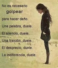 ... Duele ...