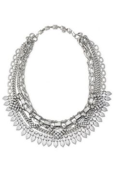 Collier Sutton argenté  www.stelladot.fr/sites/CelineB