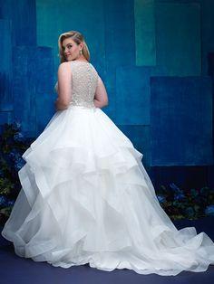 c6c17983d61 Allure Bridals W393 Spring 2017 Wedding Dresses