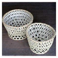 国産 竹・茶碗かご