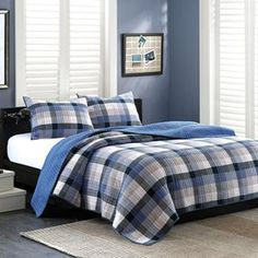 INK+IVY Maddox 3-pc. Quilted Coverlet Set - Full/Queen