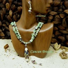 CANCUN BREEZES by GinkoOrganicDesigns on Etsy, $97.00 - One of our wonderful advertisers in the February issue of Dress it Up! Magazine.