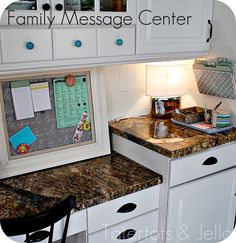 tutorial: fabric-covered magnetic message board + scrapbook paper-covered file folders