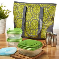 e6d03b179b38 Fit   Fresh Providence Insulated Lunch Bag Kit Large Lunch Bag, Insulated  Lunch Bags,