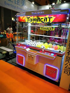 big toy claw crane arcade game machine with programmable options,electronic sounds and adjustable claw strength for carnival Arcade Game Machines, Arcade Games, Vending Machines, Toy Claw Machine, Game Room Chairs, Crane, Toys, Big, Carnival