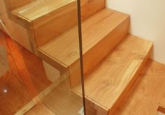 Stairs we installed prior to Aqua Innovations