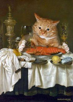 all artworks © by Svetlana Petrova/Fat Cat Art