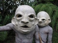 The Terrifying Tribe From A Remote Part Of Papua New Guinea