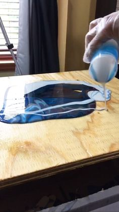 Would you like to learn how to make a DIY poured resin wall art. Check out this article about pouring resin and creating some beautiful wall art for your home, office or art gallery.Learn how I made this amazing poured resin wall art using Envirotex Diy Resin Art, Epoxy Resin Art, Diy Resin Crafts, Acrylic Resin, Diy Epoxy, Epoxy Resin Countertop, Rock Crafts, Felt Crafts, Countertops