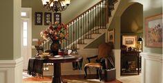 Warm Moss -Interior Colors - Inspirations   Shortgrass Prairie   760D-5, Desert Springs   PPU10-15, Hampton   750D-7...Behr paint