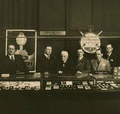 Heuer's first Basel watch show- 1934