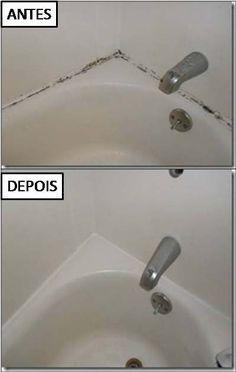 Como limpar rejunte mofado e encardido de banheiro