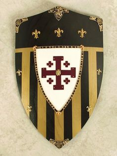 Jerusalem Shield, the emblem of the Templar Crusaders.