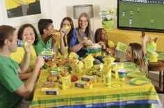 Festa Brasil #copadomundo #brasil #futebol #divertido