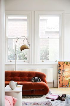 Australian actress Rachel Griffiths and artist husband Andrew Taylor open up their art-filled home. styles House tour: inside the Melbourne family home of Rachel Griffiths and artist Andrew Taylor Living Room Designs, Living Room Decor, Living Spaces, Style At Home, Home And Living, Home And Family, Home Interior, Interior Design, Home Remodel Costs