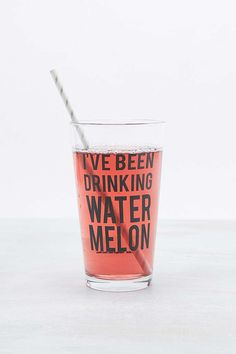 Watermelon Glass - Urban Outfitters