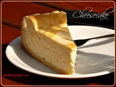 Classic Cheesecake Recipe www.ducksnarow.com #cheesecake